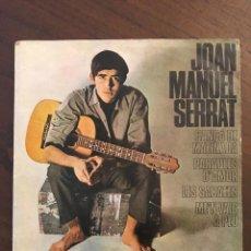 Discos de vinilo: JOAN MANUEL SERRAT ?– CANCÓ DE MATINADA SELLO: EDIGSA ?– C.M. Nº 163, EDIGSA ?– C.M. 163 FORMATO: 7 . Lote 132097486