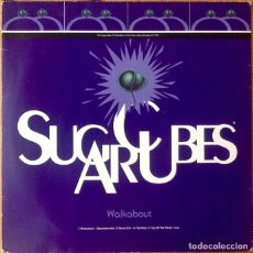 Discos de vinilo: THE SUGARCUBES : WALKABOUT (ALTERNATIVE MIX) [UK 1992] 12'. Lote 132098230