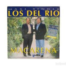 Discos de vinilo: MAXI LP. LOS DEL RIO. MACARENA (VERSION MAQUINA) (G+/VG). Lote 132098914