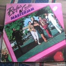 Discos de vinilo: RUFUS & CHAKA LP MASTERJAM1979 GATEFOLD RARO CHAKA KHAN. Lote 132103495