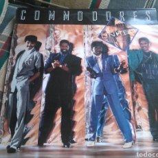 Discos de vinilo: COMMODORES LP UNITED 1986 CON ENCARTE. Lote 132104171