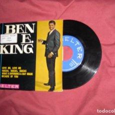 Discos de vinilo: BEN E. KING -LOVE ME, LOVE ME +3 -EP 45 DEL SELLO BELTER 1964 SPA. Lote 132108898