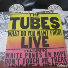 Discos de vinilo: THE TUBES `WHAT DO YOU WANT FROM LIVE` DOBLE LIVE. 1978.. Lote 131985426