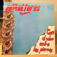 Discos de vinilo: AVIKULTORES MODERNOS CON EL RABO ENTRE LAS PIERNAS LP VINILO, ESPAÑA 1989 SAM RECORDS.. Lote 97920475