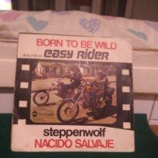 Discos de vinilo: EASY RIDER, BORN TO BE WILD. ABC 1976. Lote 132115987