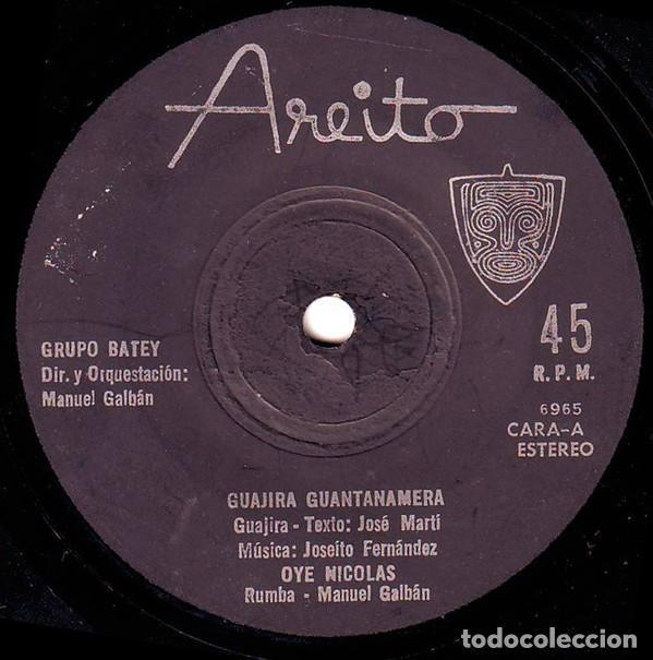 Discos de vinilo: Grupo Batey – Serie Havana Club El Ron De Cuba (Cuba, sin fecha) - Foto 3 - 132119710