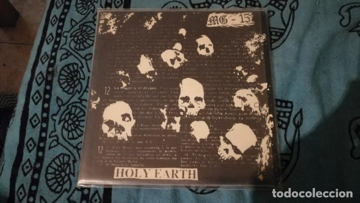 MG15: HOLY EARTH SINGLE 7 RARISIMO (Música - Discos - Singles Vinilo - Punk - Hard Core)