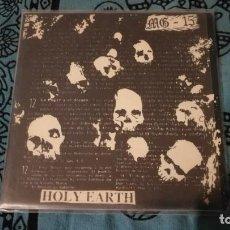 Discos de vinilo: MG15: HOLY EARTH SINGLE 7 RARISIMO. Lote 132119982