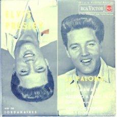 Discos de vinilo: ELVIS PRESLEY WITH THE JORDANAIRES / LA PALOMO + 3 (EP 1962). Lote 132128054