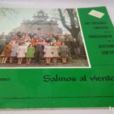 Discos de vinilo: SALMOS AL VIENTO-ORFEON MIRABALLES VIZCAYA-ALBUN PRIMERO- /RELIGION/ M RELIGIOSA/. Lote 192359943
