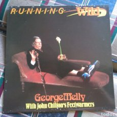 Discos de vinilo: GEORGE MELLY WITH JOHN CHILTON'S FEETWARMERS LP RUNNING WILD 1986 JAZZ BIZARRE. Lote 132131293
