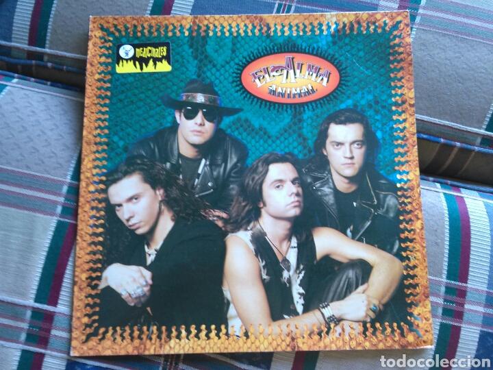 EL ALMA LP ANIMAL 1991 CON ENCARTE (Música - Discos - LP Vinilo - Grupos Españoles de los 90 a la actualidad)