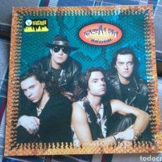 Discos de vinilo: EL ALMA LP ANIMAL 1991 CON ENCARTE. Lote 132131703