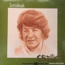 Discos de vinilo: ESTITXU - ZORTZIKOAK . LP . 1986 XOXOA. Lote 132132714