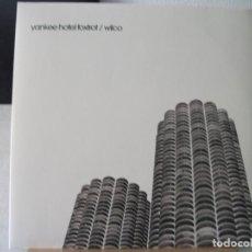 Discos de vinilo: DOBLE LP DE WILCO , YANKEE HOTEL FOXTROT (AÑO 2002, SUNDAZED, PRIMERA EDICIÓN), TODO MUY BIEN. Lote 132134222