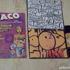 Discos de vinil: WACOZINE Nº 3+ EP SHAKE DOG SHAKE-COMPLETO FANZINE ( NOSOTRÄSH,LOS BUGES,FUGAZZI,THE MUTIES,). Lote 132135658