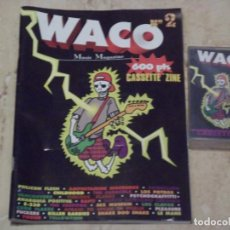Discos de vinilo: WACOZINE Nº2-COMPLETO MAS CASSETE-JOYA!!!!!( SEX MUSEUM, LE MANS,LOS POTROS,AMPHETAMINE ,YOGUR ETC). Lote 132137170