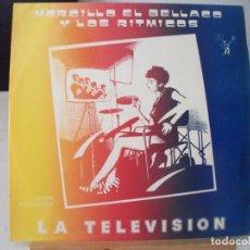 Discos de vinilo: MAXI SINGLE DE MORCILLO EL BELLACO Y LOS RITMICOS , LA TELEVISIÓN + 2 (AÑO 1984), PROMOCIONAL. Lote 132137758
