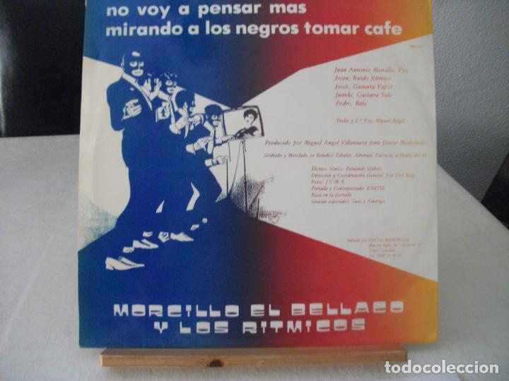 Discos de vinilo: MAXI SINGLE DE MORCILLO EL BELLACO Y LOS RITMICOS , LA TELEVISIÓN + 2 (AÑO 1984), PROMOCIONAL - Foto 2 - 132137758