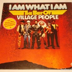 Discos de vinilo: THE BEST OF VILLAGE PEOPLE ( I AM WHAT I AM ) 1979 - GERMANY LP33 TELEFUNKEN. Lote 132137986