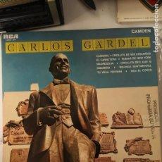 Disques de vinyle: CARLOS GARDEL-RARA COPIA RCA MEJICO 1972-PROMOCIONAL CARPETA DURA-NUEVO-MUY MUY RARO. Lote 132140449
