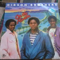Discos de vinilo: GIBSON BROTHERS LP ON THE RIVIERA 1980. Lote 132142722