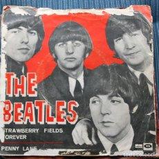 Discos de vinilo: SINGLE - THE BEATLES - STRAWBERRY FIELDS FOREVER / PENNY LANE - ODEON . Lote 132145562