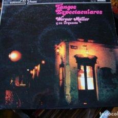 Discos de vinilo: TANGOS 4 DISCOS LPS DE VINILO. Lote 132146338