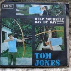 Discos de vinilo: TOM JONES - HELP YOURSELF / DAY BY DAY - 1968 ESPAÑA. Lote 132146570