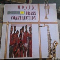 Discos de vinilo: THE BRASS CONSTRUCTION LP THE BEST OF 1988 USA PRESS MUY RARO VG FUNK. Lote 132148998