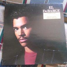 Discos de vinilo: EL DEBARGE LP SAME 1986 CON ENCARTE VG CON CANCION PELICULA CORTOCIRCUITO. Lote 132149339