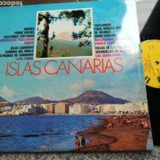Discos de vinilo: ISLAS CANARIAS LP 1974 IMPACTO VER CONTENIDO EN FOTO. Lote 132149846