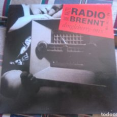 Discos de vinilo: DIE ARZTE MAXI RADIO BRENT 1987 VG+ PUNK MUY RARO. Lote 132150913