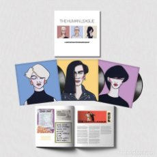Discos de vinilo: HUMAN LEAGUE * 3 LP BOX SET HQ 180G + LIBRETO *ANTHOLOGY. A VERY BRITISH SYNTHESIZER GROUP * SEALED. Lote 132153062