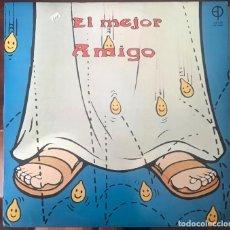 Discos de vinilo: EL MEJOR AMIGO LP EDICIONES PAULINAS 1981 MARÍA SARDENBERG , JESÚS GLUCK, RARO. Lote 132157954