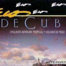 Discos de vinilo: ECOS DE CUBA - ORQUESTA SERENATA TROPICAL Y VIOLINES DE PEGO - LP PERFIL- VOL. 6 - 1990. Lote 132164310