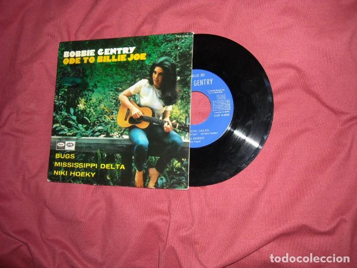 BOBBIE GENTRY EP ... ODE TO BILLIE JOE + 3 / CAPITOL - MUESTRA PROMOCION AÑO 1967 SPA (Música - Discos de Vinilo - EPs - Pop - Rock Internacional de los 50 y 60)