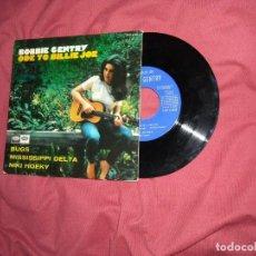 Discos de vinilo: BOBBIE GENTRY EP ... ODE TO BILLIE JOE + 3 / CAPITOL - MUESTRA PROMOCION AÑO 1967 SPA. Lote 132165998