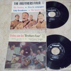 Discos de vinilo: THE BROTHERS FOUR- LOTE DOS EP-EDICIONES ESPAÑOLAS. Lote 132166814