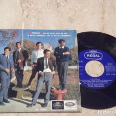 Discos de vinilo: THE FOUR WINDS AND DITO RECUERDA + 3 EP FREAKBEAT HAMMOND SPAIN EMI1966 EXCELENTE. Lote 132168834