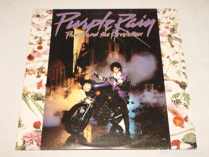 PRINCE AND THE REVOLUTION – PURPLE RAIN USA 1984 WARNER BROS RECORDS (Música - Discos - LP Vinilo - Pop - Rock - New Wave Extranjero de los 80)