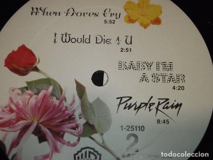 Discos de vinilo: Prince And The Revolution – Purple Rain USA 1984 WARNER BROS RECORDS - Foto 5 - 132170430