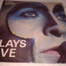 Discos de vinilo: PETER GABRIEL, PLAYS LIVE 1983. Lote 132172070