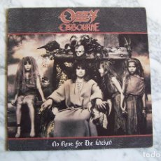 Discos de vinilo: LP OZZY OSBOURNE. NO REST FOR THE WICKED. . Lote 132172362