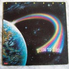 Discos de vinilo: LP RAINBOW. DOWN TO EARTH.. Lote 132173906