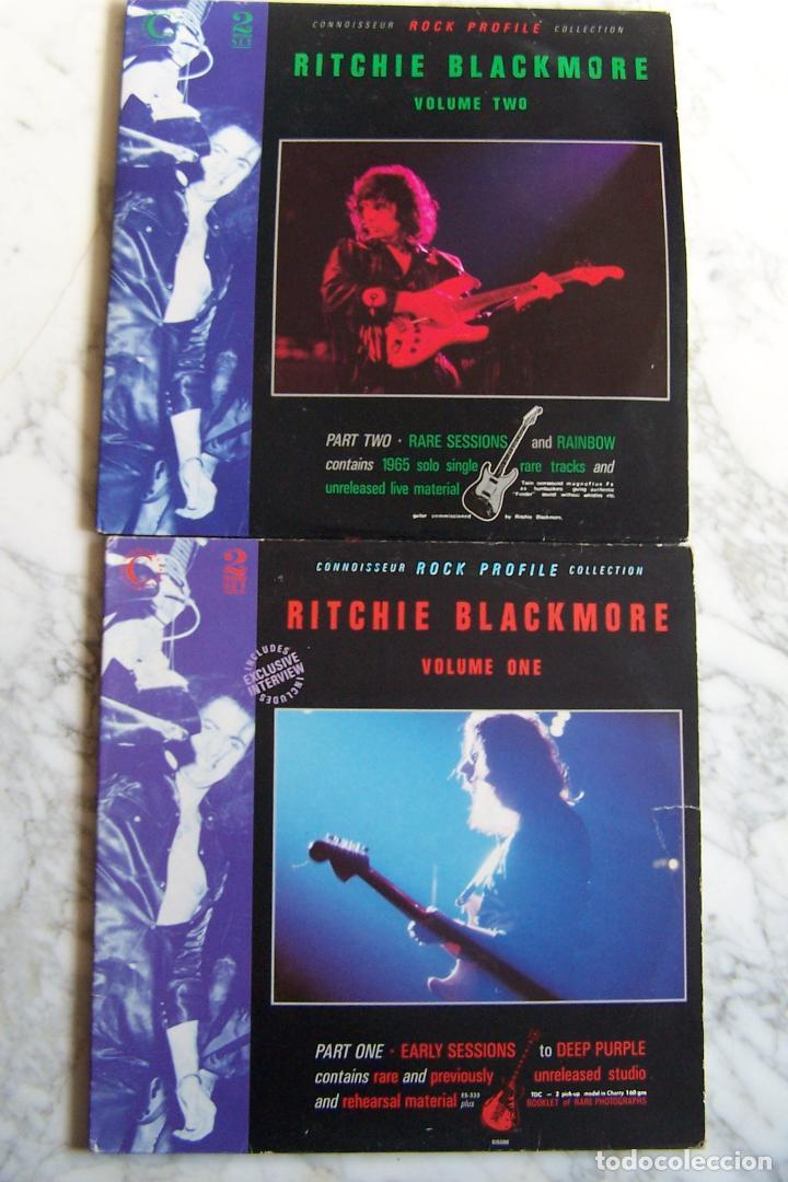 LPS RITCHIE BLACKMORE. 4 DISCOS. VOLS 1 Y 2. CONNOISSEUR ROCK PROFILE COLLECTION. (Música - Discos - LP Vinilo - Heavy - Metal)