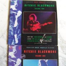 Discos de vinilo: LPS RITCHIE BLACKMORE. 4 DISCOS. VOLS 1 Y 2. CONNOISSEUR ROCK PROFILE COLLECTION.. Lote 146826802