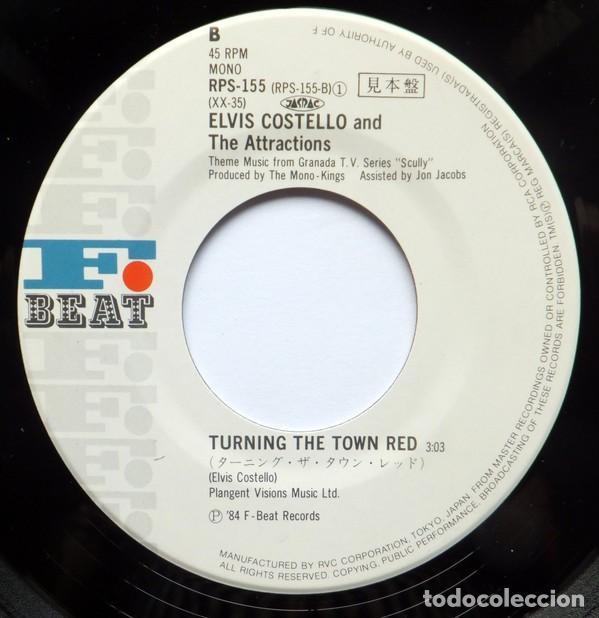 Discos de vinilo: oferta promo single Japon Elvis Costello - I Wanna Be Loved - Foto 3 - 132176690