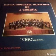 Discos de vinilo: VIGO SUITE SINFÓNICA BANDA-ORQUESTRA MUNICIPAL DE A CORUÑA. Lote 132177970