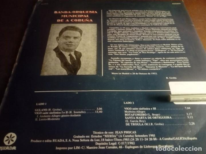 Discos de vinilo: Vigo Suite sinfónica Banda-Orquestra Municipal de A Coruña - Foto 2 - 132177970